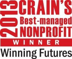 Crain's Best Nonprofit Winner